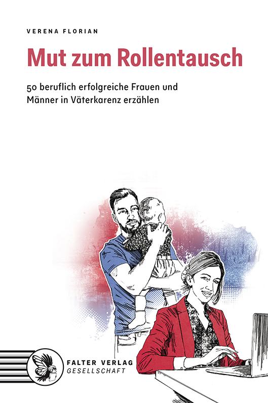 """Buchdeckel: """"Mut zum Rollentausch"""", FALTER - Verlag"""